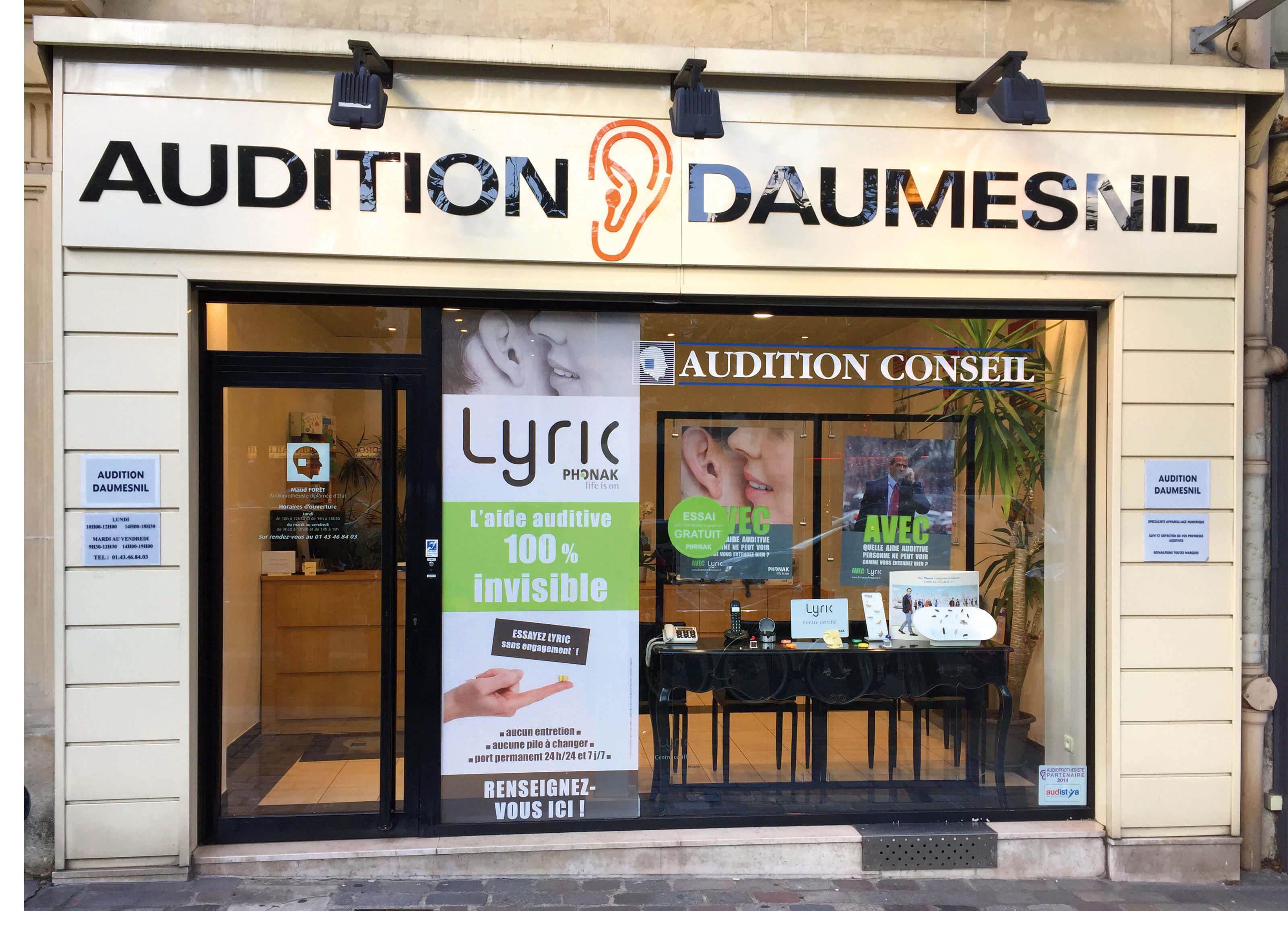 Audition Conseil Paris 12 Daumesnil