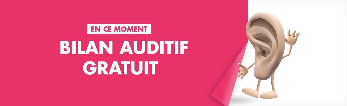Les audioprothésistes Audition Conseil effectuent un bilan auditif gratuit