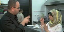Restaurant à Gaza pour les personnes malentendantes