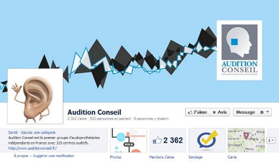 Les audioprothésistes Audition Conseil sur Facebook