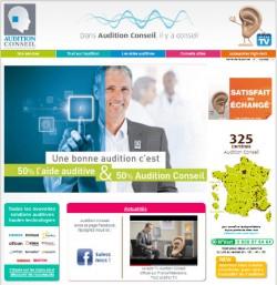 Nouveau site web de vos audioprothésistes