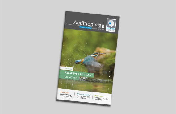 Consultez le magazine Audition Mag 2018 pour tout savoir sur l'audition et les aides auditives avec Audition Conseil