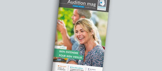 Découvrez le dernier numéro d'Audition Mag pour tout connaître de l'actualité de l'audition de 2020