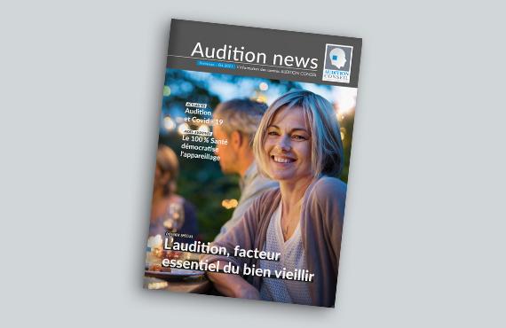 Découvrez le dernier numéro du magazine Audition News 2020 pour tout savoir sur l'actualité de l'audition