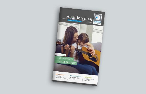 Découvrez le magazine Audition Mag du mois d'Octobre 2018 pour tout savoir sur l'actualité de l'audition