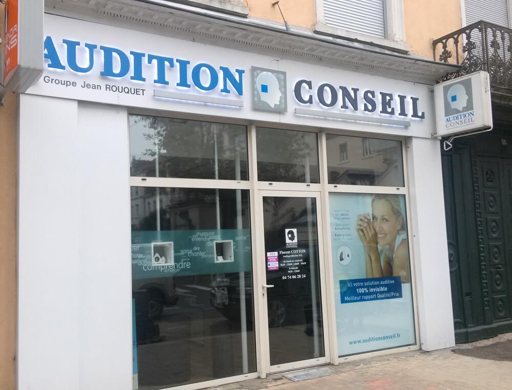 Audition Conseil Villefranche-sur-Saône