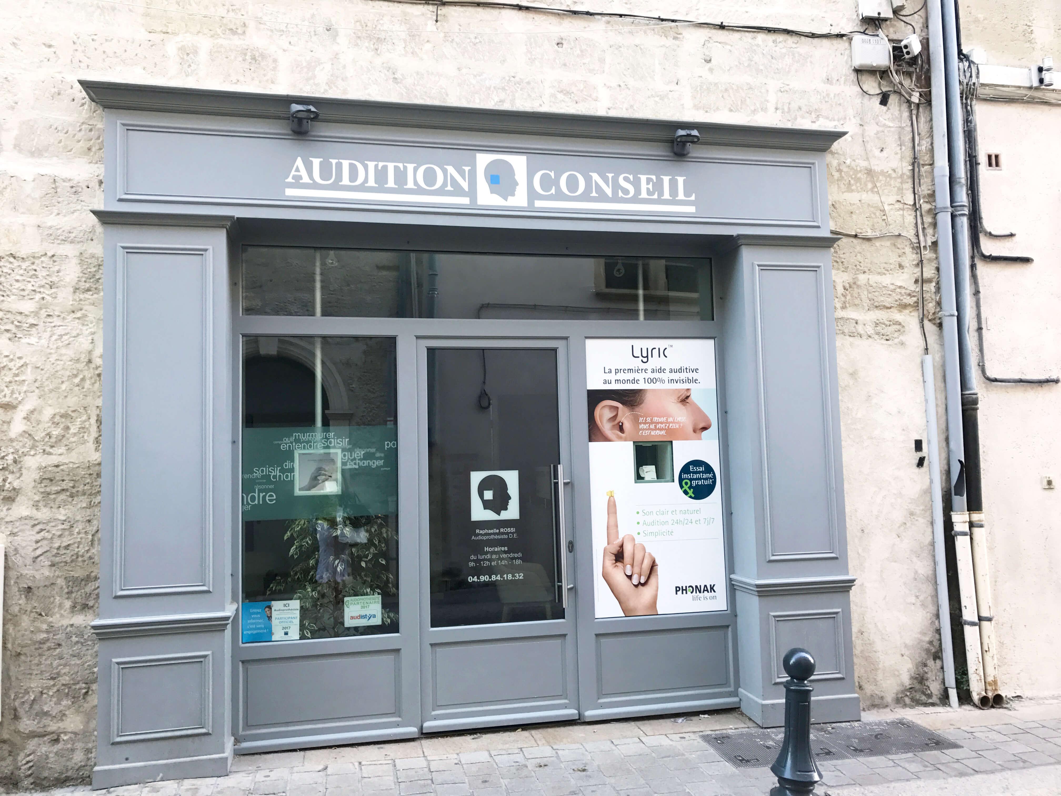 Audition Conseil Villeneuve lez Avignon
