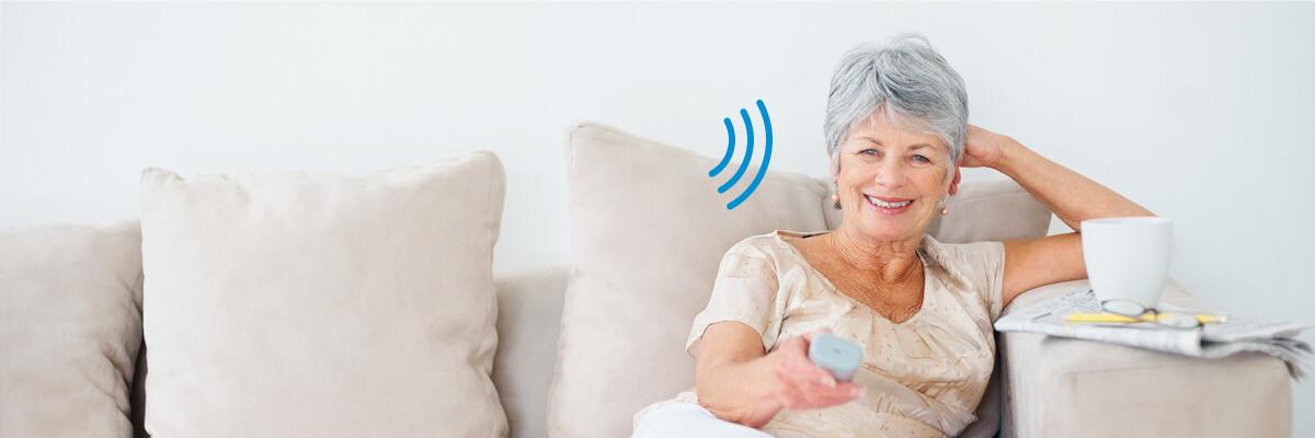 Bénéficiez des solutions auditives sans fil haut début