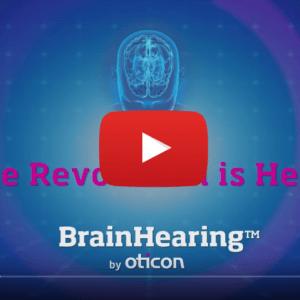 Vidéo sur la technologie auditive BrainHearing Oticon