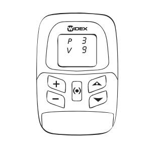 Notice Remote controls RC4-2 Widex