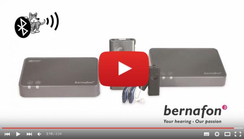 Vidéo de l'accessoire auditif Soundgate de Bernafon