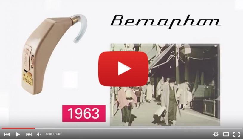 Vidéo de l'histoire de Bernafon