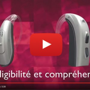 Vidéo sur la technologie auditive ChannelFree Bernafon
