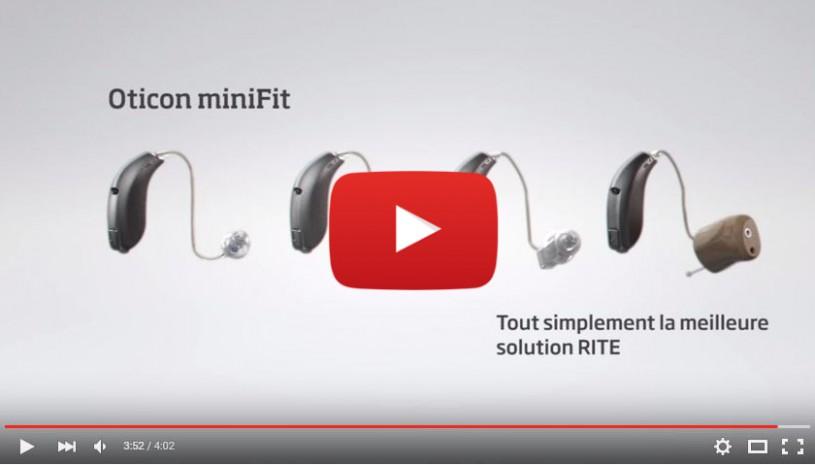 Vidéo de la prothèse auditive Alta de la marque Oticon
