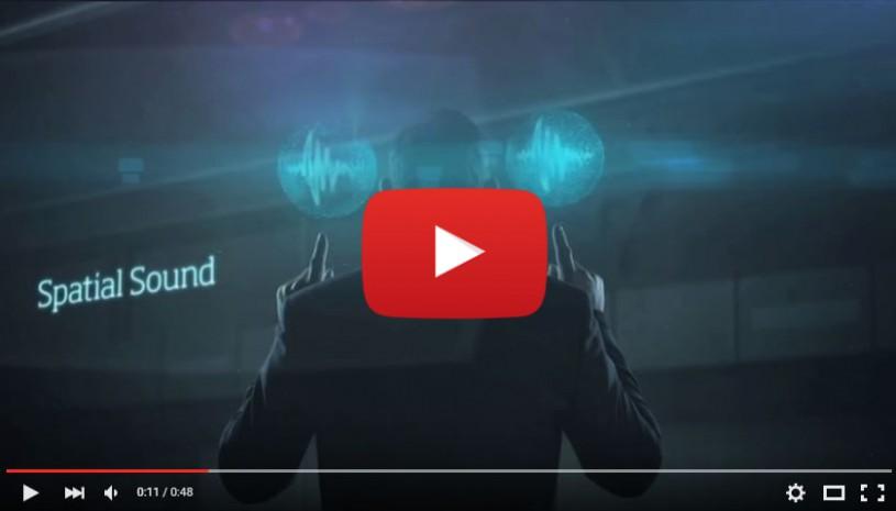 Vidéo sur la technologie auditive Spatial Sound Oticon