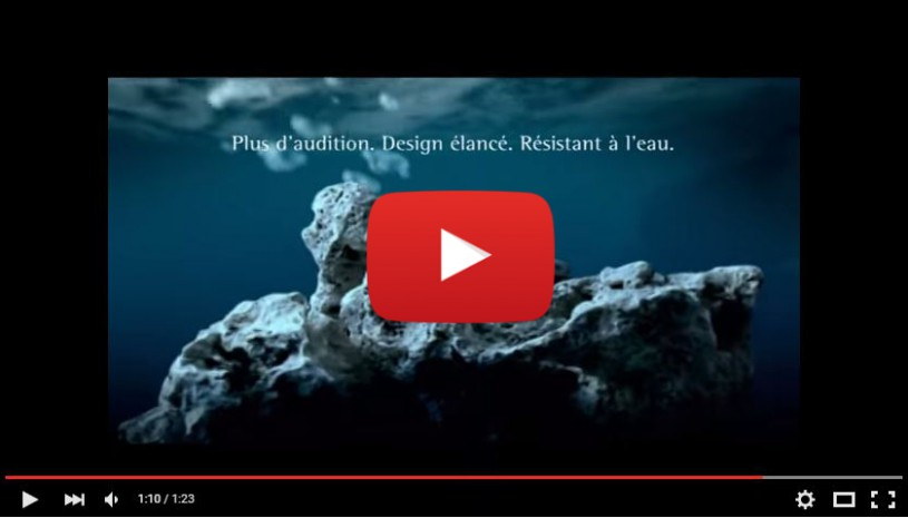 Vidéo sur l'appareil auditif Naida de la marque Phonak
