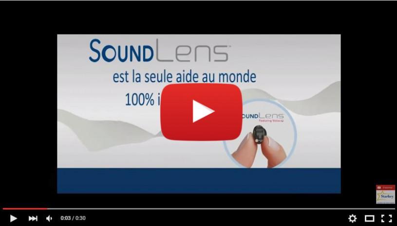 Vidéo sur l'appareil auditif SoundLens de la marque Starkey