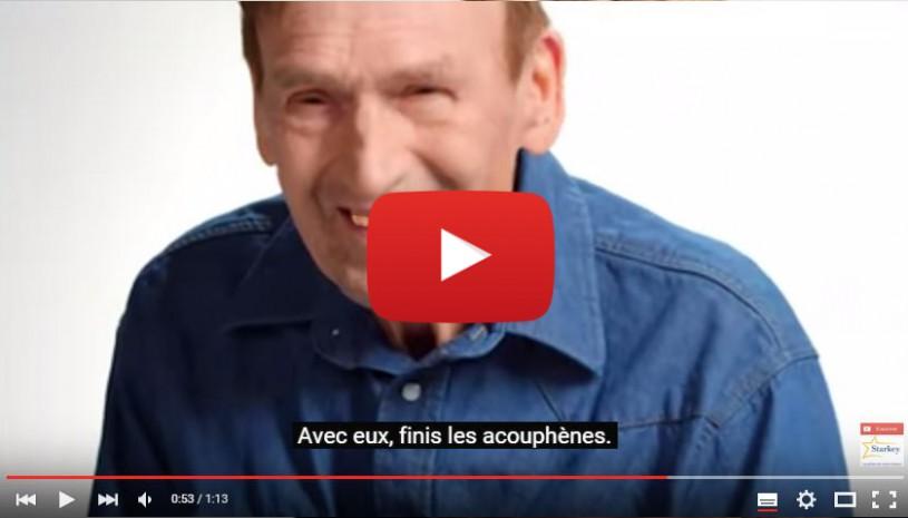 Vidéo sur le témoignage de Ken sur les acouphènes Starkey