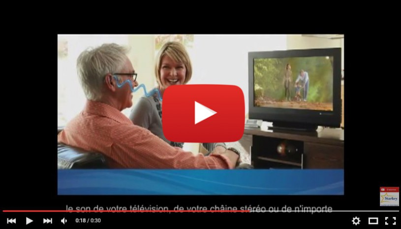 Vidéo sur l'appareil auditif Wi Series de Starkey