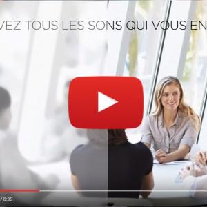 Vidéo sur l'appareil auditif Cros de Widex