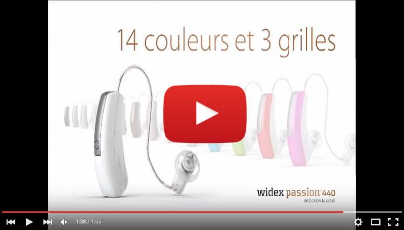 Vidéo sur Passion 440 de Widex