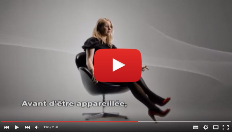 Vidéo témoignage Caroline Passion Widex