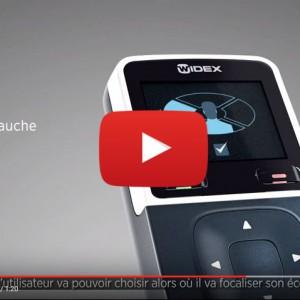 Vidéo sur la technologie Zoom inverse et FreeFocus Widex