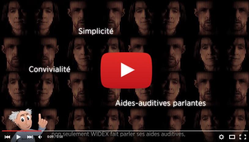 Vidéo sur la technologie auditive SmartSpeak Widex