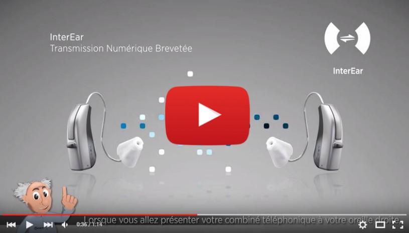 Vidéo sur l'accessoire auditif Téléphone+ de Widex