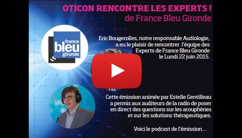 Vidéo de l'interview des experts France Bleu Gironde