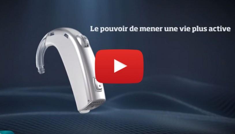 Vidéo sur l'aide auditive Dynamo d'Oticon