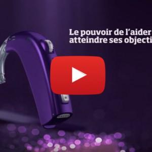 Vidéo sur l'appareil auditif Oticon Sensei SP