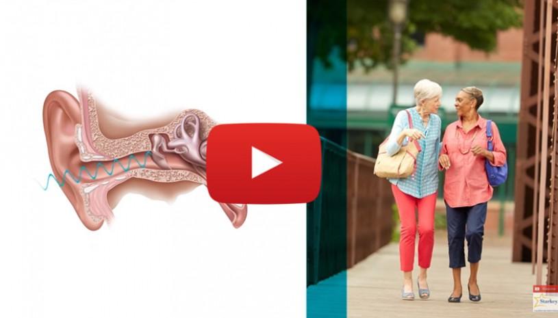 Vidéo de la marque Starkey au sujet de notre manière d'entendre