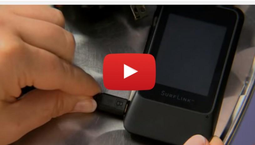 Vidéo sur le rechargement du SurfLink Mobile