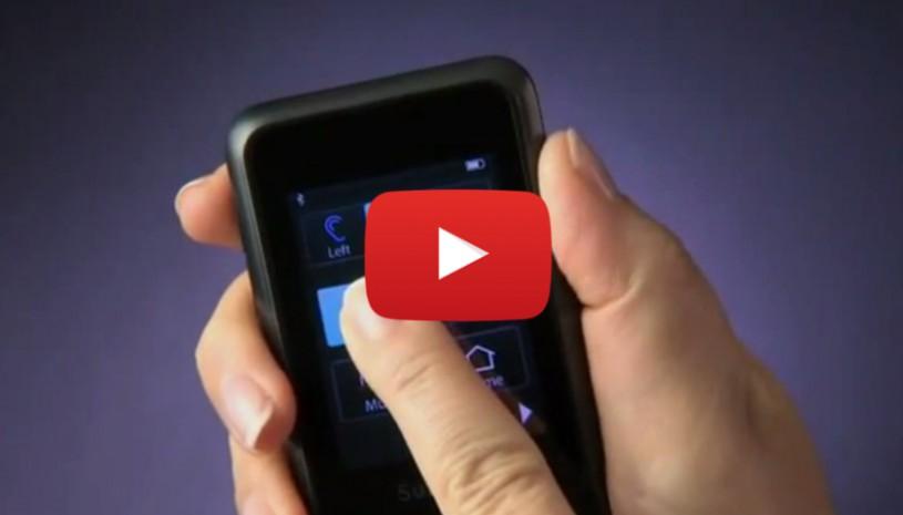 Vidéo de Starkey sur la sélection du programme avec SurfLink Mobile