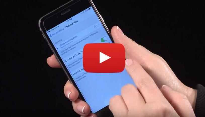 Vidéo sur comment déconnecter les aides auditives Halo sans piles avec TruLink de Starkey
