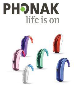 Gamme d'appareils auditifs Phonak à retrouver chez AUDITION CONSEIL France
