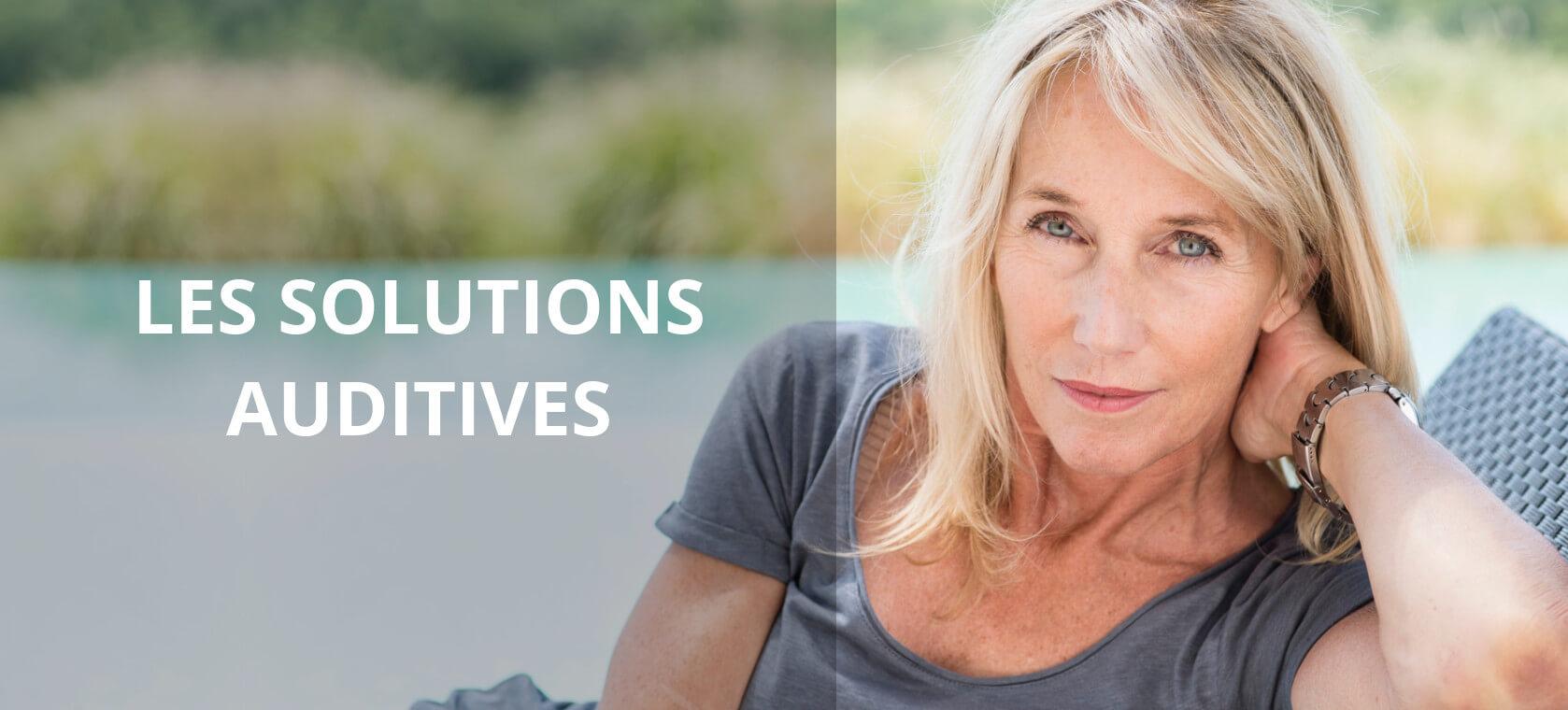 Solutions auditives présentées par vos spécialistes de l'audition : AUDITION CONSEIL