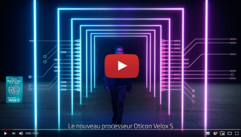 Vidéo sur la technologie auditive Opensound Optimizer de la marque OTICON