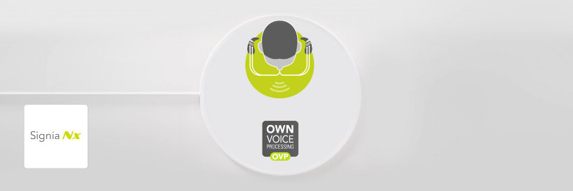 Technologie OVP™ (Own Voice Processing) de Signia