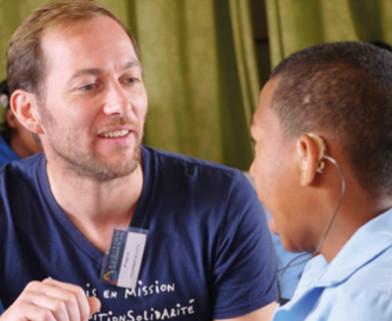 Fabien Martin, professionnel de l'audition en mission humanitaire à Madagascar