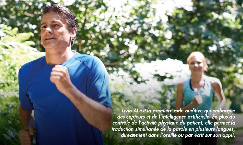 Les aides auditives connectées surveillent désormais votre santé