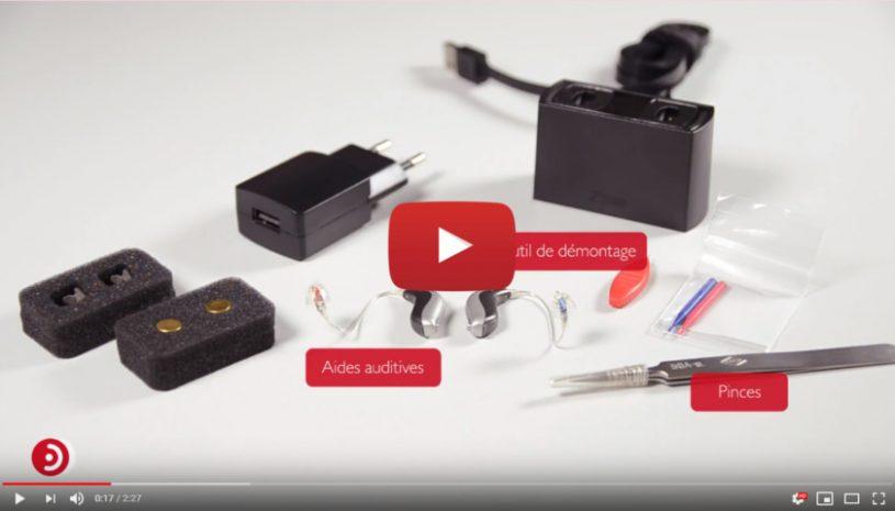 Tutoriel explicatif de la marque BERNAFON pour savoir comment changer un tiroir pile Zpower