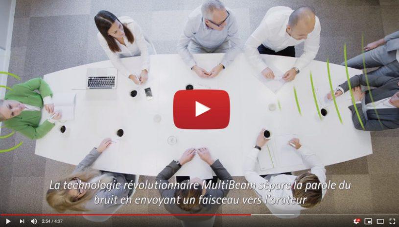 Vidéo sur le microphone sans fil Roger Table Mic II de la marque PHONAK