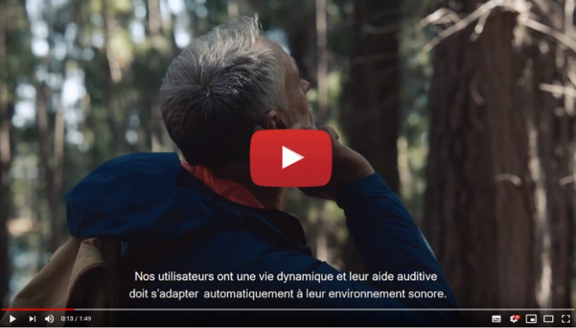 Vidéo sur la technologie Evoke Fluid Sound de la marque WIDEX