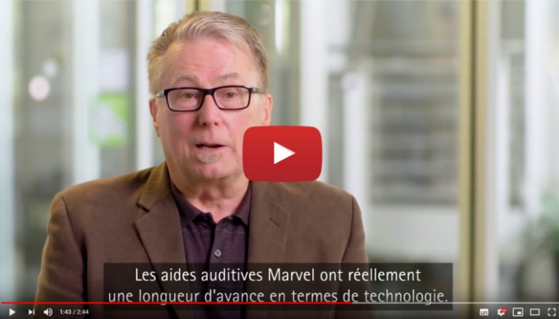 Vidéo sur l'appareil auditif Audéo™ Marvel de la marque PHONAK