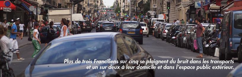 Les nuisances sonores sont une problème majeur pour l'ensemble des Franciliens