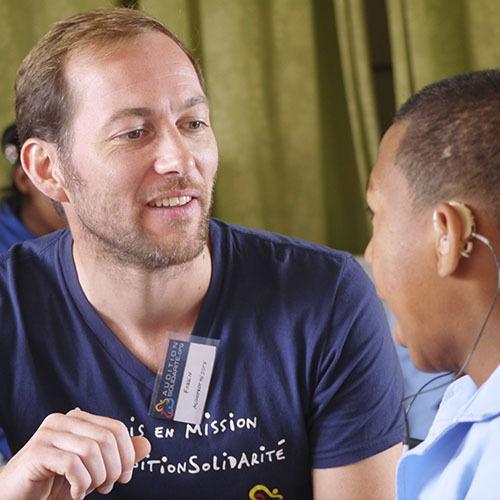 Fabien Martin en mission humaniraire à Madagascar pour Auditon Conseil