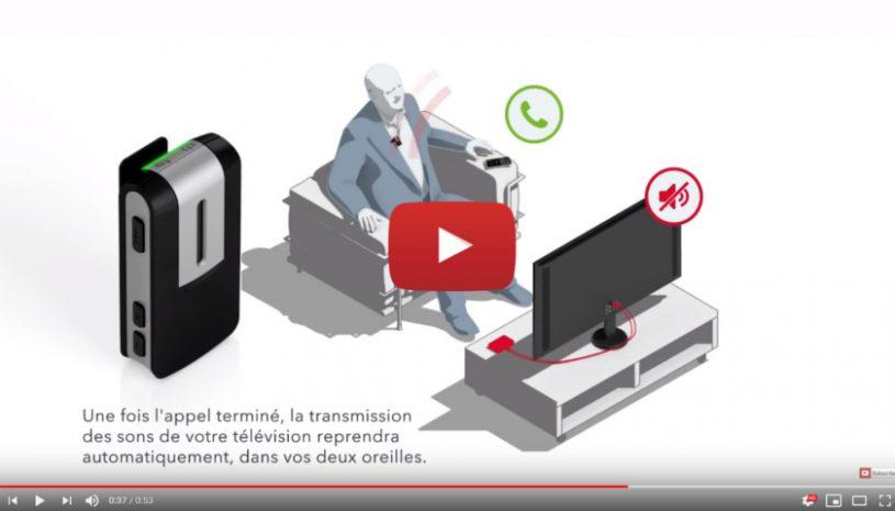 Tutoriel pour apprendre à utiliser Streamline Mic avec StreamLine TV de la parque Signia