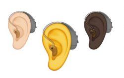 Nouveaux emojis aides auditives